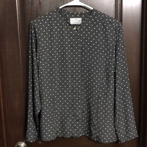 Vintage Miss Sophisticates Pendleton Blouse
